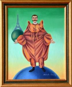 Le nouvel Icare (Reichelt, l'homme volant qui se jeta du haut de la Tour Eiffel)