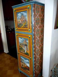 Petite armoire Renaissance