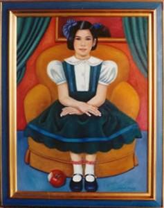 Portrait d'Atiana Smanio
